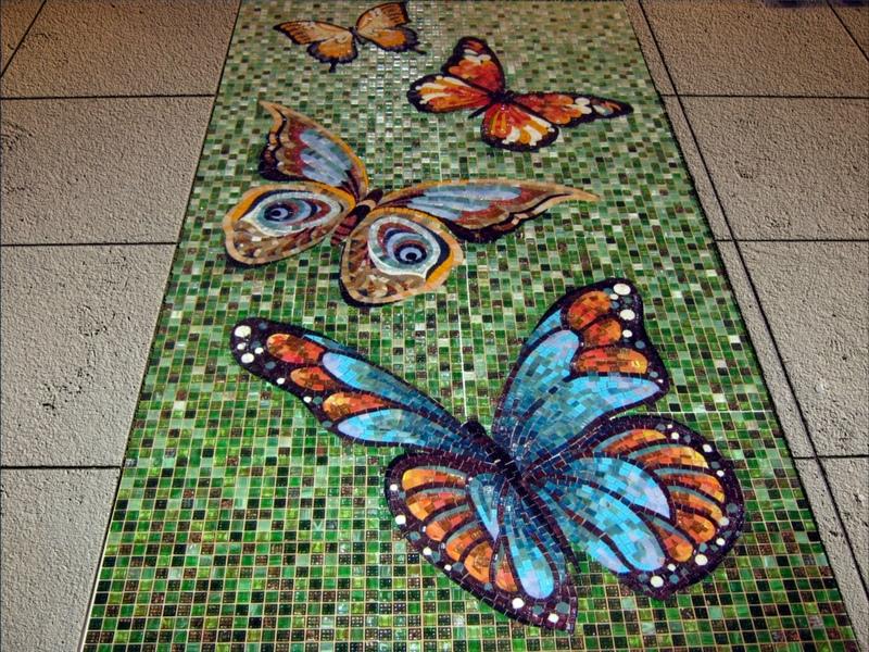 Изготовление панно из мозаики