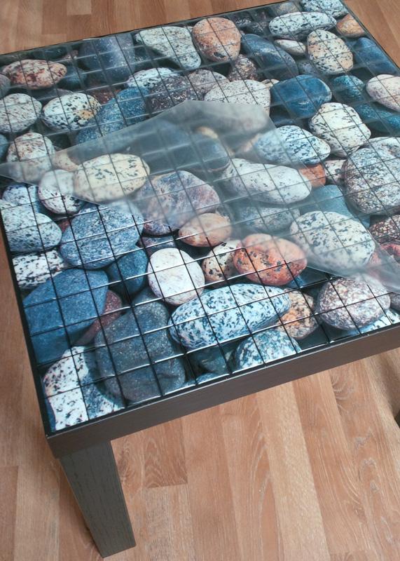 монтажная пленка на мозаике