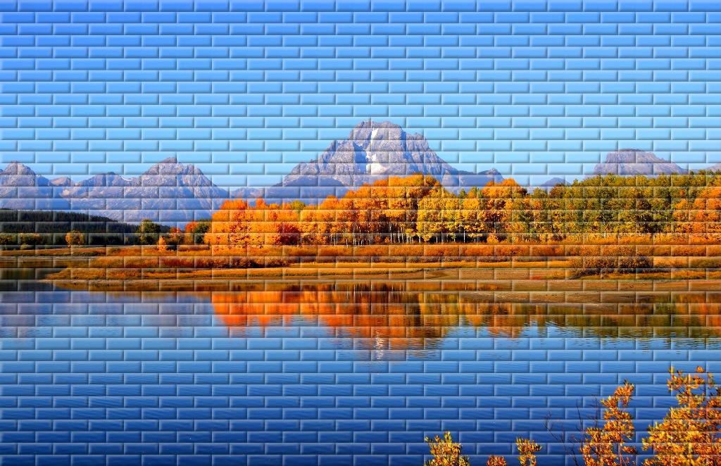 мозаика на стену 14