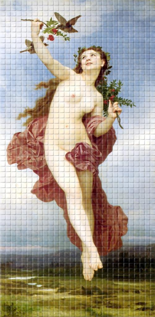 мозаика на стену 9