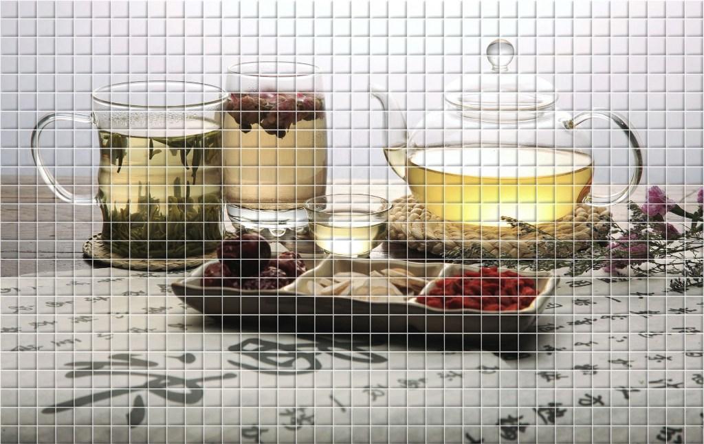 мозаика фартук для кухни 15